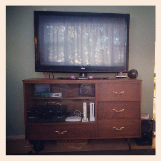 Mid Century Credenza turn TV Stand